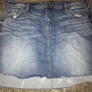 Silver Jeans Denim Skirt
